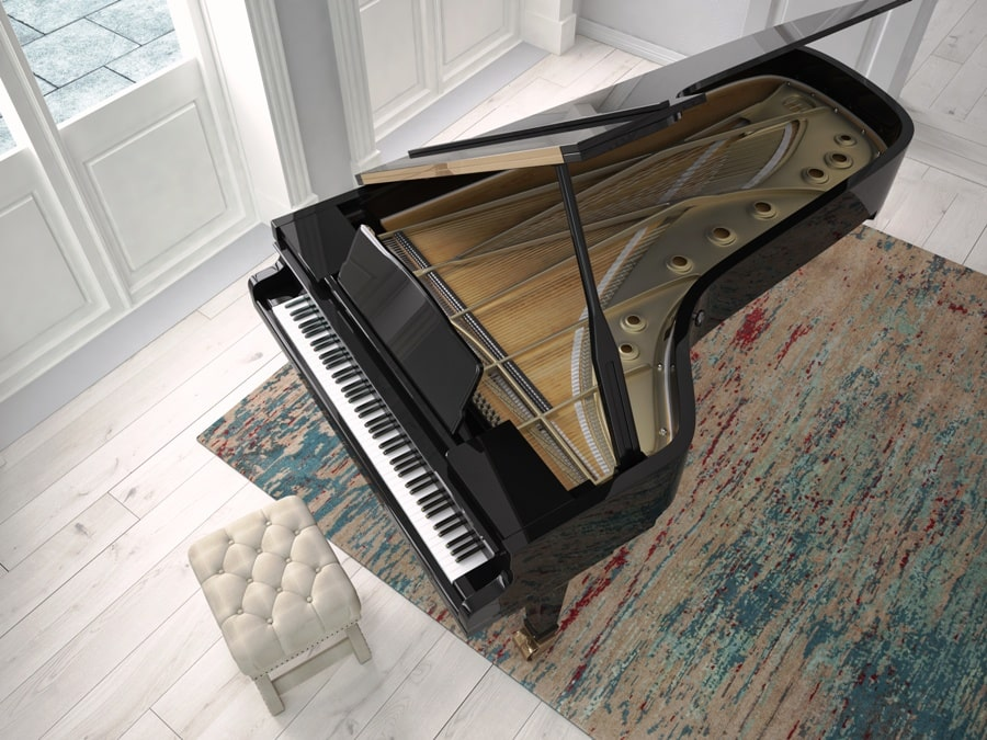 Pianos Daoust - Home Page Tailed Piano Image